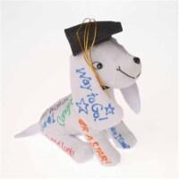 Grad Hat Autograph Dog - 1