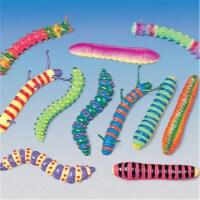 Neon Caterpillars - Pack of 12 - 1