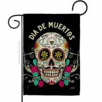 Angeleno Heritage G135382-BO 13 x 18.5 in. Dia De Muertos Garden Flag with Fall Day of Dead D