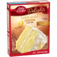 Betty Crocker Supermoist Cake Mix, Lemon (Pack of 2)
