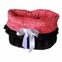 Santa Says Reversible Snuggle Bugs Pet Bed, Bag & Car Seat - 1
