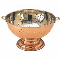 12-Inch Copper Footed Colander Centerpiece