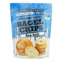 Hometown Bagel Bagel Chips - Sea Salt - Case of 12 - 6 oz - Case of 12 - 6 OZ each