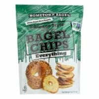 Hometown Bagel Bagel Chips - Everything - Case of 12 - 6 oz - Case of 12 - 6 OZ each
