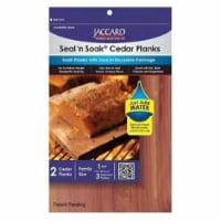 Jaccard 201404 Seal N ft. Soak Cedar Planks Large - Per 2 - 1