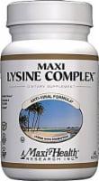 Maxi Health  Kosher Maxi Lysine Complex with Probiotics