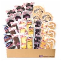 Hostess Variety Pack | Cupcakes, Cinnamon Rolls, Danish, Ding Dongs, Twinkies, Zingers | 30 C - 1