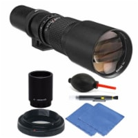Bower 500mm/1000mm Telephoto Lens With Accessory Kit