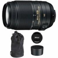 Nikon Af-s Dx Nikkor 55-300mm F/4.5-5.6g Ed Vr Lens For Nikon Dslr Cameras