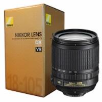 Nikon Af-s Dx Nikkor 18-105mm F/3.5-5.6g Ed Vr Lens With Lens Pouch