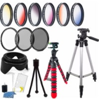 52mm Color Filter Kit With Accessories For Nikon D5500 , D5600 , D7100 And D7200