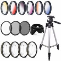 52mm Color Filter Kit With Accessory Kit For Nikon Digital Slr Cameras