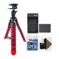Replacement Lpe8 With Charger And Accessory Kit For Canon Eos Rebel T2i, T3i, T4i And T5i - 1