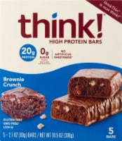 think! Brownie Crunch High Protein Bars