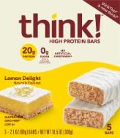 think! Lemon Delight High Protein Bars