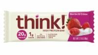 think! Gluten-Free Berries & Creme High Protein Bar