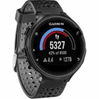 Garmin FORERUN235BK Forerunner 235 GPS Running Watch - Black/Gray - 1