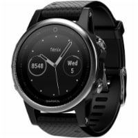 Garmin FENIX5SSLVBK fenix 5S Training Watch - Silver/Black - 1