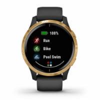 Garmin Venu GPS Smartwatch - Black/Gold