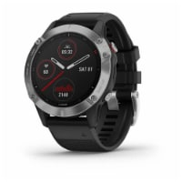 Garmin FENIX6MUSPSL fēnix® 6 Smart Watch - Silver - 1