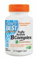 Doctor's Best Fully Active B Complex with Quatrefolic 30 Count