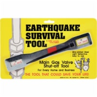 Ready America Gas Shut Off Wrench Earthquake Survival Tool 3333
