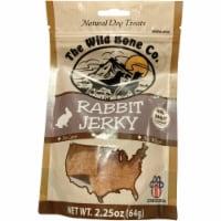 The Wild Bone Company Rabbit Jerky Dog Treat, 2.25 Oz. 1940 - 2.25 Oz.