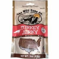 The Wild Bone Company Turkey Jerky Dog Treat, 3 Oz. 1920 - 3 Oz.