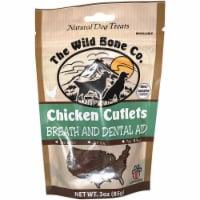 The Wild Bone Company Breath & Dental Aid Chicken Cutlet Dog Treat, 2.75 Oz. - 2.75 Oz.