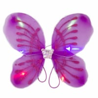 Blinkee 300 Light Up Fuchsia Fairy Butterfly Wings - 1