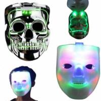 Blinkee 185065 Jabbawockeez Flip to Skull LED Halloween Mask - 1