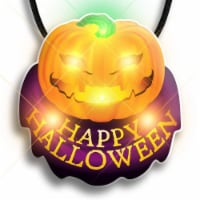 Blinkee 210000 Happy Halloween Pumpkin Flashing Body Light Necklace - 1