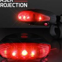 Blinkee 665041 Red Bike Light with Ground Illuminating Lasers - 1