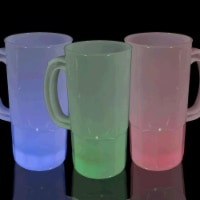 Blinkee 1345010 Tall Frosted LED Beer Stein