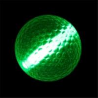 Blinkee 1595500 1.5 in. Glow Stick Golf Ball, Green - 1