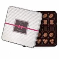 Assorted Dark Premium Quality Chocolate Tin Gift Box - Count