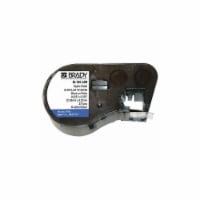 Brady Rough Surface Label,Bk/Wht,25 ft. L  MC-500-422 - 1