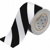 Brady Floor Marking Tape,Roll,4In W,100 ft. L  104379 - 1