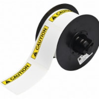 Brady Label,Black/Yellow,2.250 In.  B30-241-595-ANSICA - 1