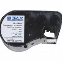 Brady Label,White,1.750inWx1.000inH,180 Lbls  M-125-492 - 1