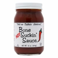 Bone Suckin' Sauce Hot Barbeque Sauce