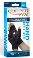 Copper Fit Hand Relief Gloves - L/XL