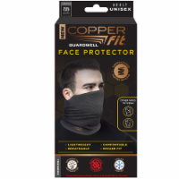 Copper Fit™ Guardwell Face Protector - Gray
