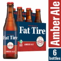 New Belgium Fat Tire Amber Ale Beer 6 Bottles