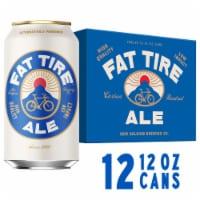 New Belgium Fat Tire Amber Ale Beer - 12 cans / 12 fl oz