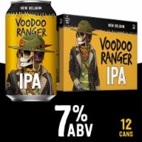 New Belgium Voodoo Ranger IPA - 12 cans / 12 fl oz