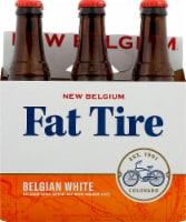 New Belgium Fat Tire Belgian White Beer 6 Bottles