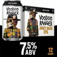 New Belgium Voodoo Ranger Juicy Haze IPA - 12 cans / 12 fl oz