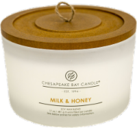 Chesapeake Bay Candle® Milk and Honey Coffee Table Jar Candle - White