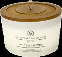 Chesapeake Bay Candle® White Gardenia Coffee Table Jar Candle - White